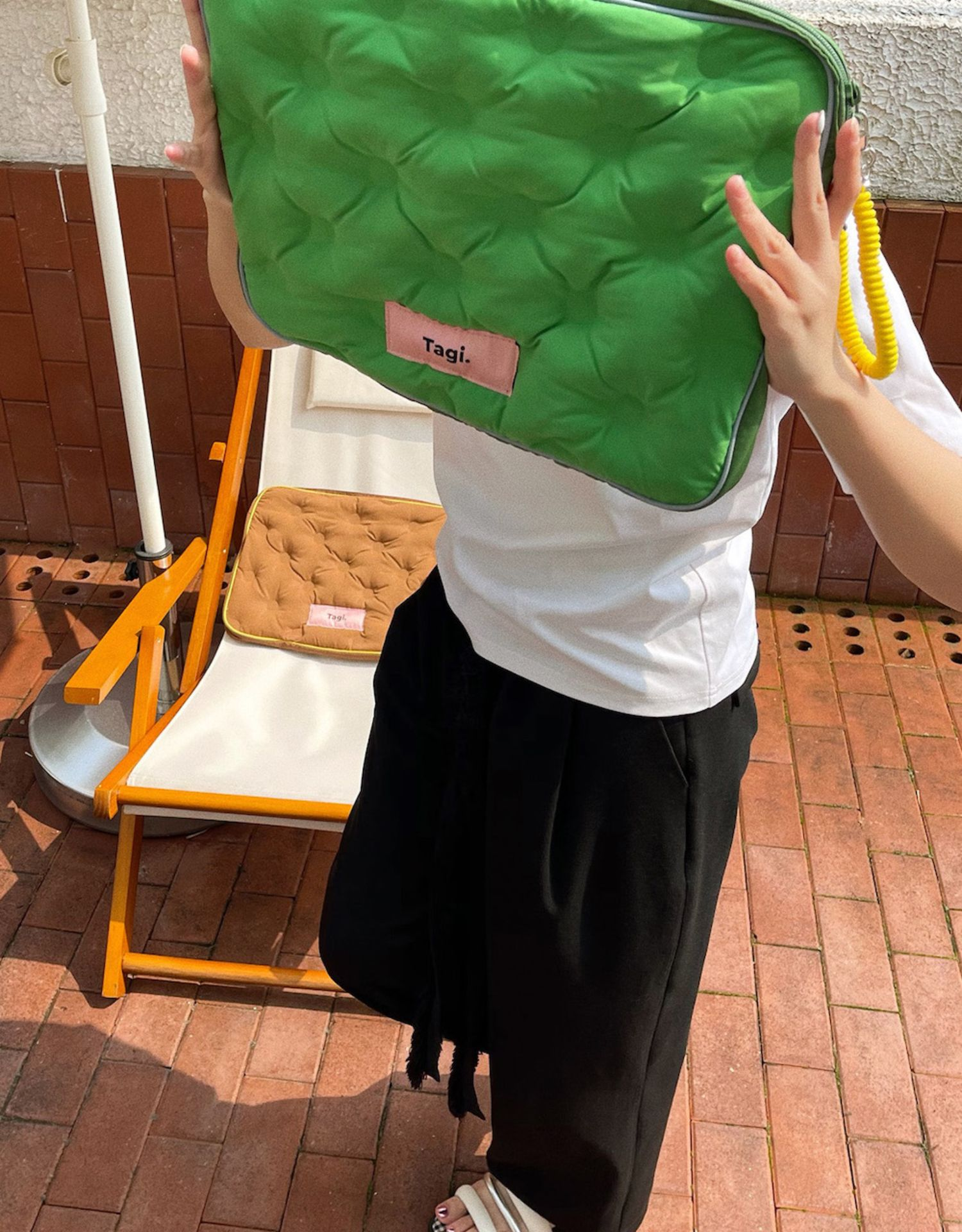內膽包 Tagi.海綿電話電腦包sponge laptop bag充棉柔軟筆記本內膽