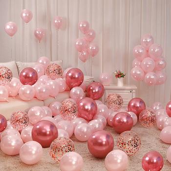 Выйти замуж воздушный шар розовый свадьба брак дом декоративный новый дом установите блестки комната свадьба ткань положить женщина квадрат романтический спальня, цена 192 руб