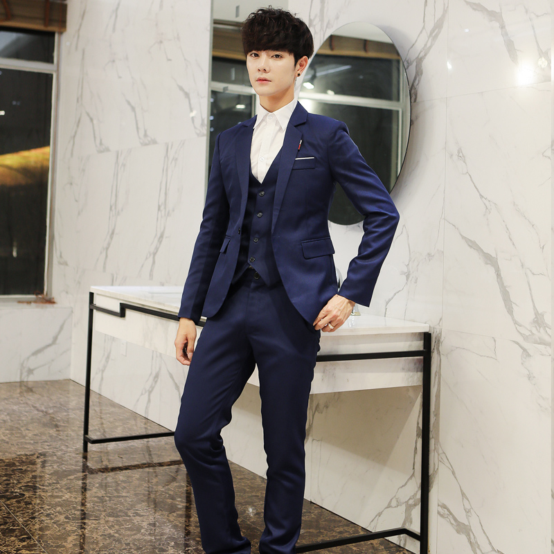 Fashion New Three Piece Suit P...