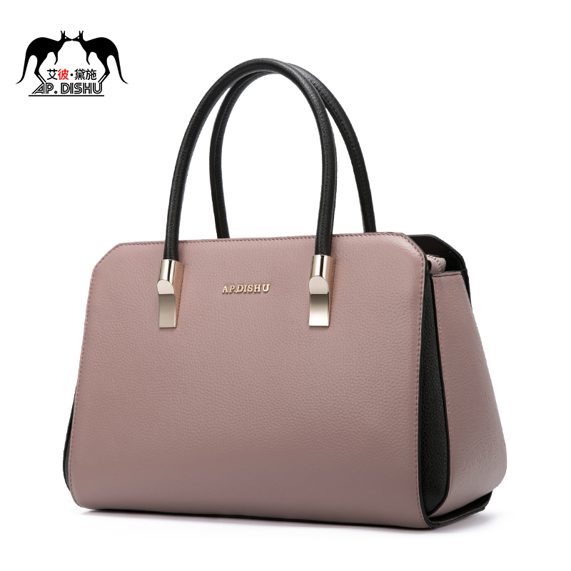 95.96] Brand Bag 2019 New Fashion Genuine Leather Middle-aged Mother's Bag  Handbag from best taobao agent ,taobao international,international  ecommerce newbecca.com