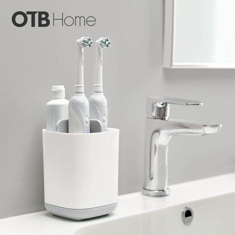 joseph 浴室收纳盒电动牙刷置物架座牙具架牙膏杯卫生间双人四口