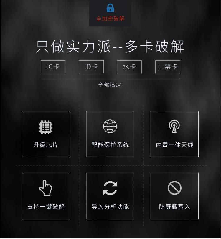 Proxmark3 PM3 easy3.0读卡器4.0RFID NFC全加密考勤5.0门禁IC ID