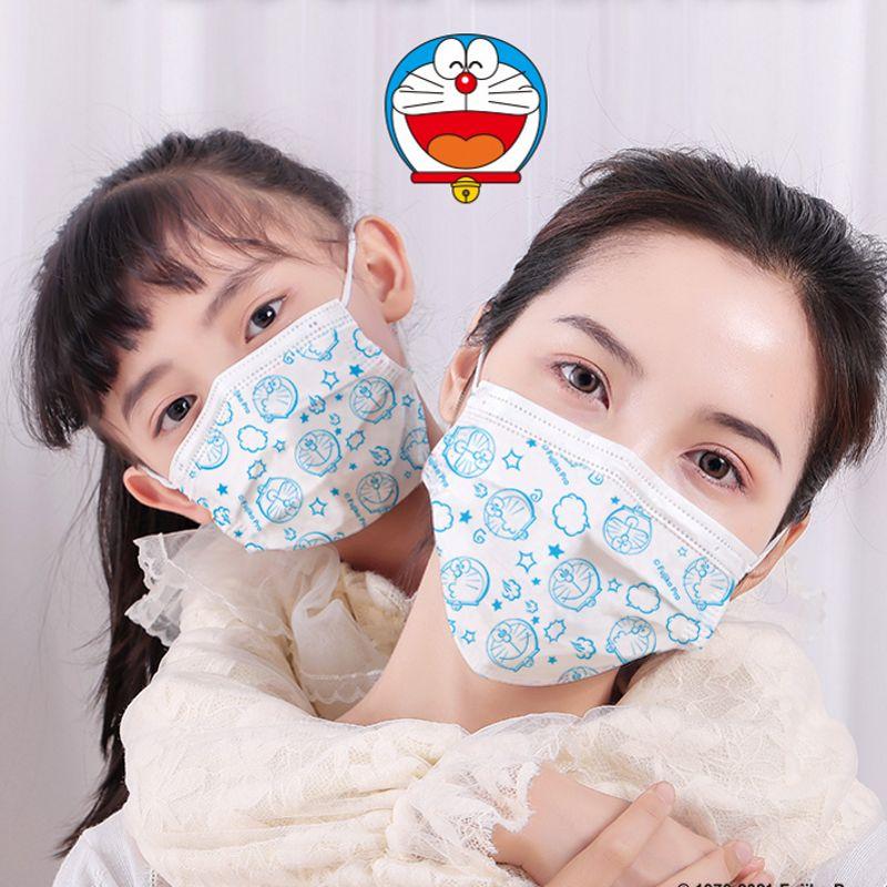 【薇娅推荐】超亚哆啦A梦联名口罩医用外科儿童口罩一次性防护薄