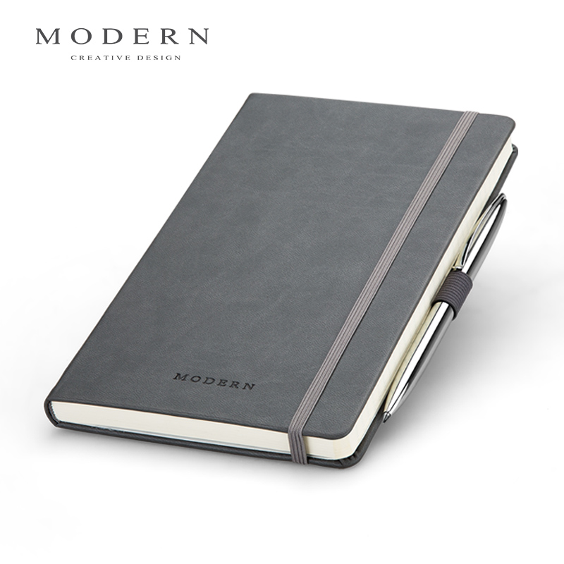 German MODERN business notepad high-end portable notebook creative  conference this can be customized with a metal pen