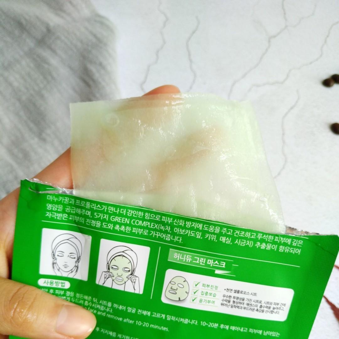 加了蜂蜜的果蔬面膜~敏感肌来了解下5