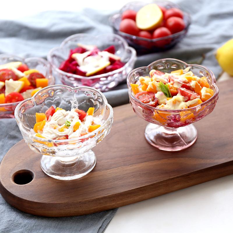 Дом в милый сердце рельеф резные конструкции стекло чашки сын мороженое ходули чашка холодный напиток десерт чаша салат чаша