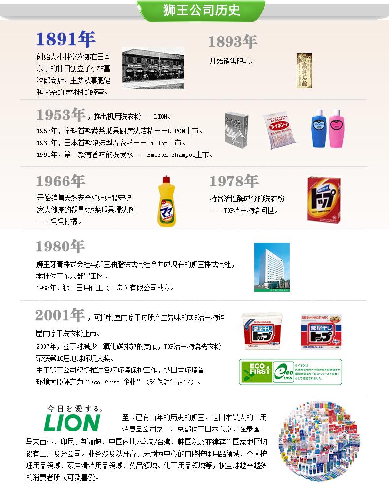 日本进口 狮王 衬衣衣领去渍护理剂 250ml*2瓶 图7