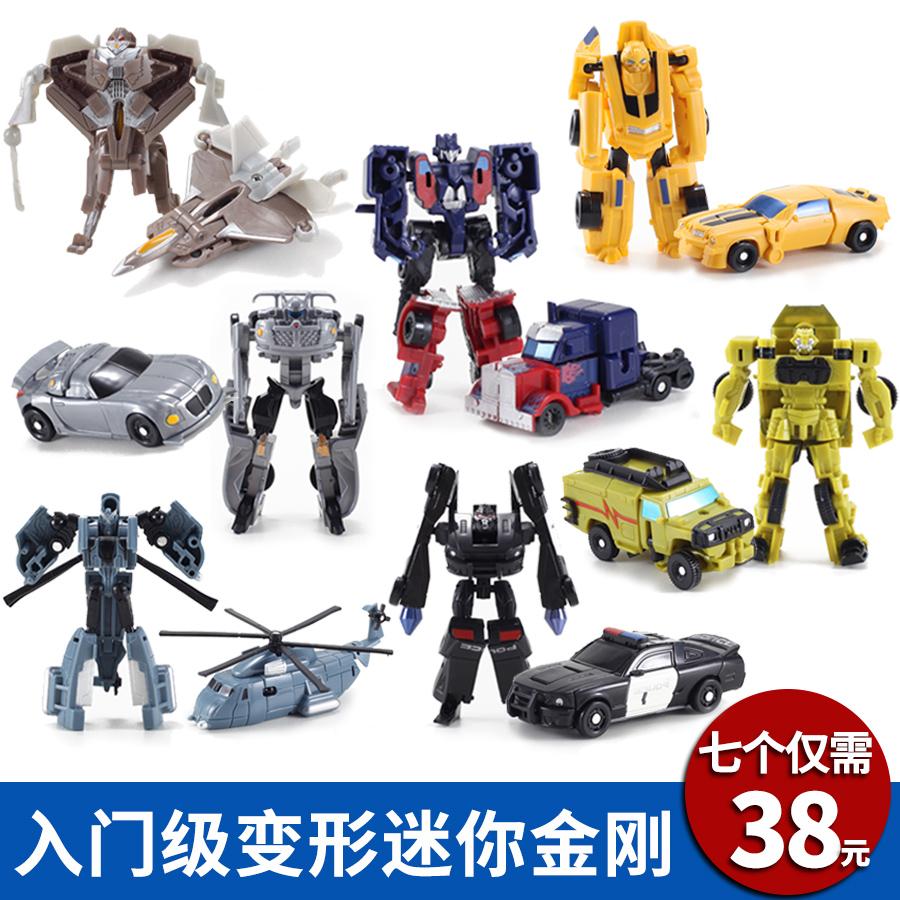 Деформировать игрушка алмаз 5 мини шмель машину робот вручную модель установите мальчик монгольский пакистан следовать 4
