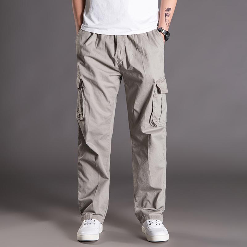 【木林普格】夏季多袋工装休闲长裤