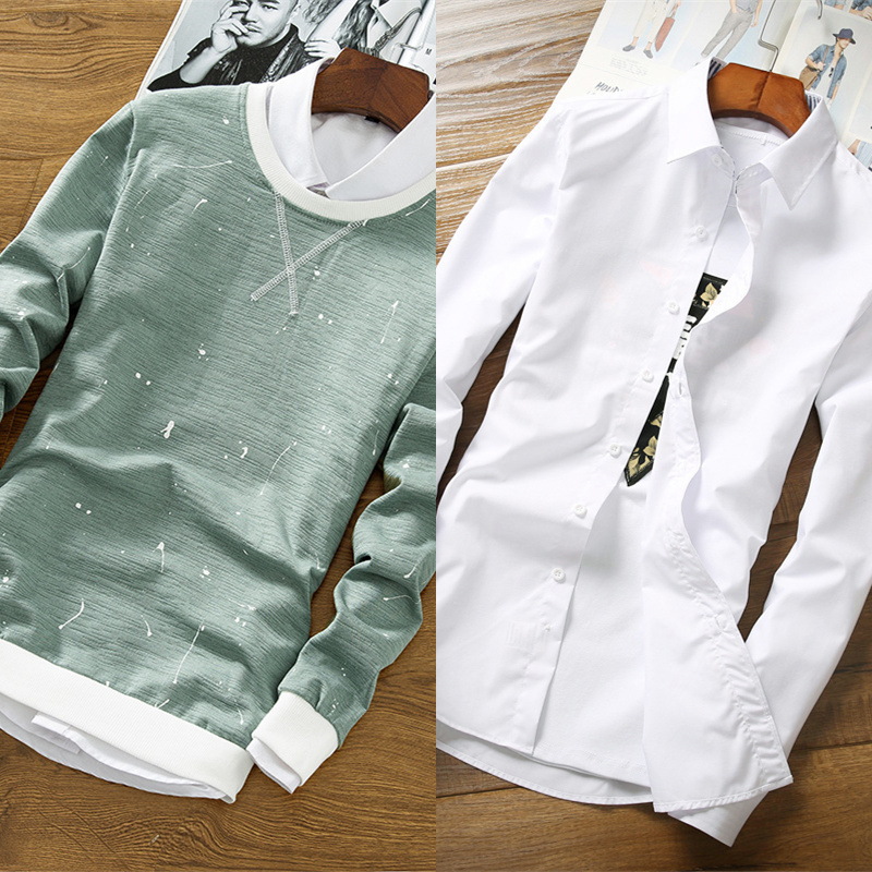 We865 green (no plus velvet) + white shirt