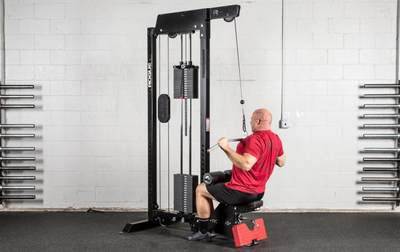 Sitting posture high pull training gym high and low pull back rowing private education studio one machine commercial home