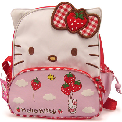 Korean school bag kindergarten middle class small class girl backpack kawaii cartoon children birthday gift fabric