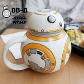 BB-8 Ceramic Mug With Lid