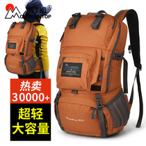 Mountaineering bag shoulder female 40 liter tour pack ultra light Large capacity travel backpack