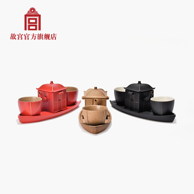 Palace of Qingming on the river tea set tea set Gift Box official flagship store of the Palace Museum
