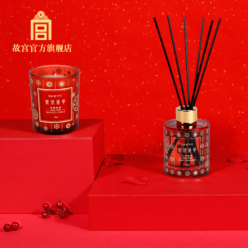 Palace of the Forbidden Zong Hua extended fragrance fragrance candles festival gift Palace Museum official flagship store