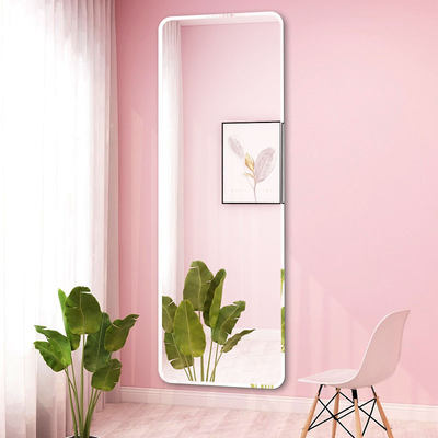 Full body mirror woman wearing mirror wall hanging paste home bedroom girl fitting mirror student dormitory mirror wall self-adhesive