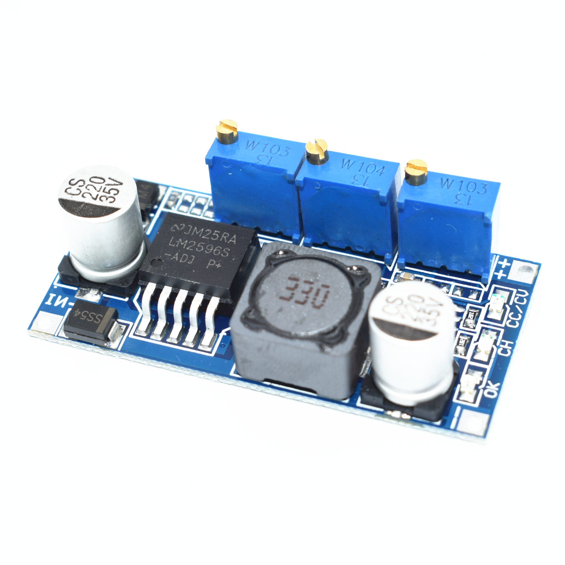 Usd 553 Lm2596 Led Driver 3a Constant Current Voltage Circuit Lithium Ion Battery Charging Power Supply Module