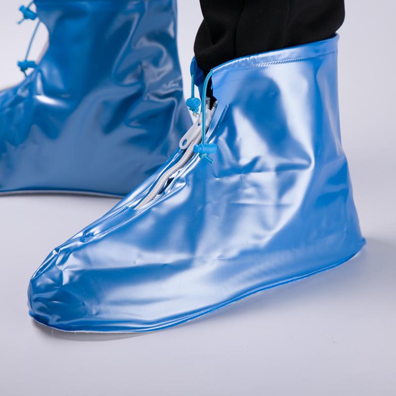 致富家防雨鞋套男雨鞋套女防滑加厚耐磨防水鞋套雨天旅游防雪靴套