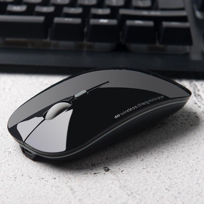 灵蛇无线鼠标可充电式静音蓝牙双模无声女生无限办公游戏适用苹果