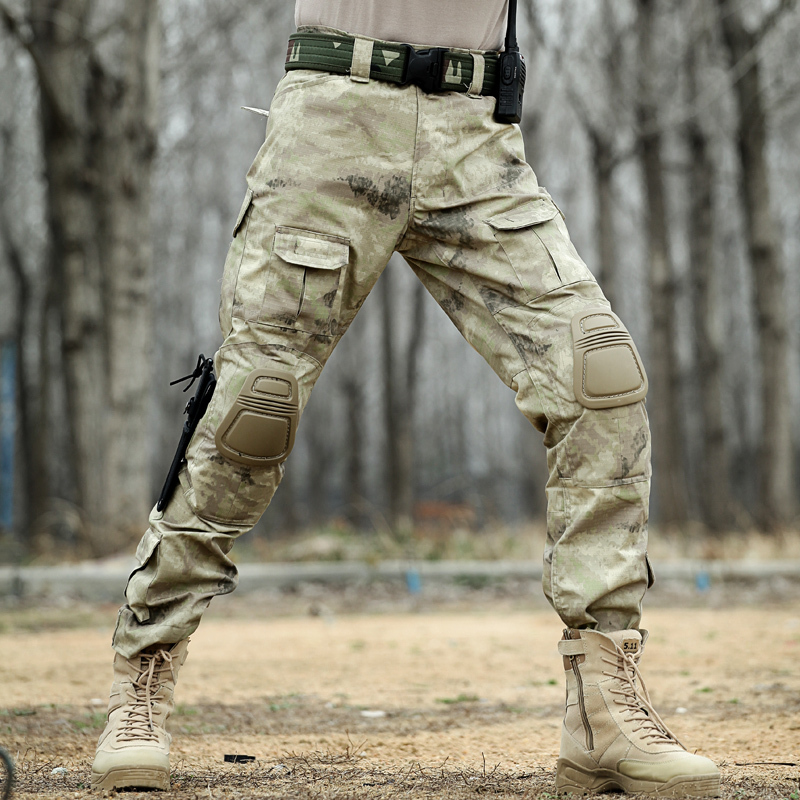 c6586cd622121 Outdoor Special Forces combat pants overalls military pants Army fan tactical  pants male loose field trousers training pants