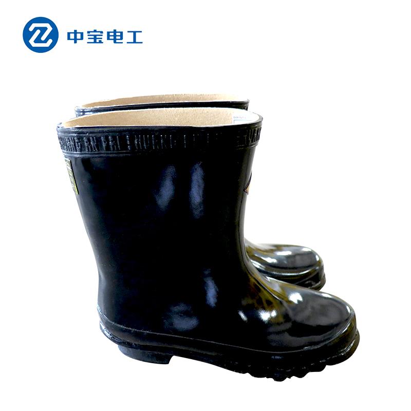 Оба хлынутся электрик ботинок изоляции знака 30kv высокая Сапоги с изоляцией высокая Отжимает ботинки дождя изоляции переключая дом для