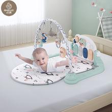 【贝易】婴儿益智健身架脚踏钢琴玩具