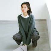 Retro Loose Fit Knit Sweater