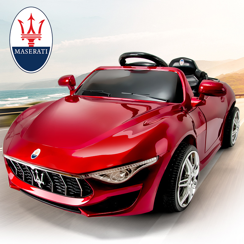 Maserati children's electric car four-wheel drive four-wheel remote control car baby 4-wheel toy can sit stroller
