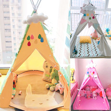 Children's tent Playhouse baby's room princess's house boy's and girl's toy house Indian tent