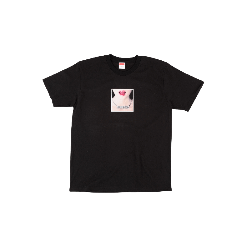26260a1d37e9 ... Supreme Necklace Tee SS 18 Girl Necklace Lips Print Short Sleeve T-Shirt  - SU3636 ...