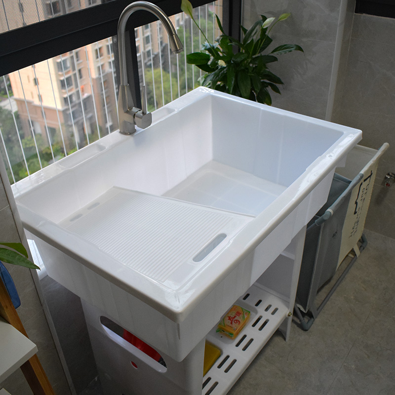 Laundry Sink With Washboard Zoom Lightbox Moreview
