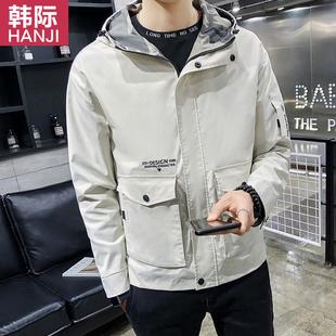 2019新款韩版潮流春装工装夹克
