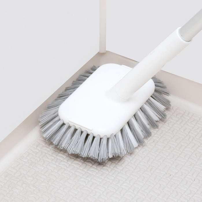 Japanese Brush Long Handle Bathroom Scrubbing Bathtub Toilet Tile Hardness Hair Scrubbing Gap Long Put Brush