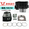Zongshen three-wheeled motorcycle tsunami 250 sets of cylinders SB250 water-cooled cylinder cylinder liner cylinder block four matching