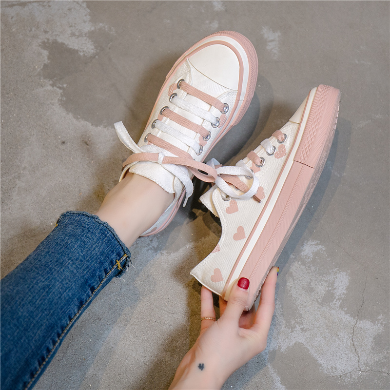 A268 White Powder (send Pink Shoelaces, The Sole Has No Love, The Side Has Love)