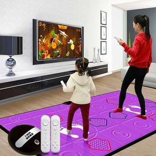 Cool dance PU dancing mat wireless double TV computer interface dancing machine home somatosensory running children's game machine