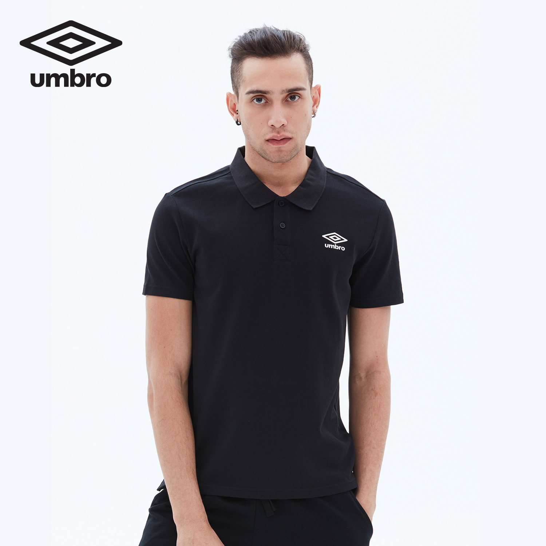 Umbro UMBRO nam mùa hè mới ngắn tay polo áo sơ mi giản dị màu rắn ve áo thể thao ngắn tay áo