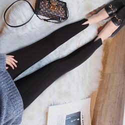 Pregnant women's pants, pregnant women's pants, spring and autumn thin section, pregnant women's leggings, feet pants, trousers, cropped trousers, autumn summer clothes