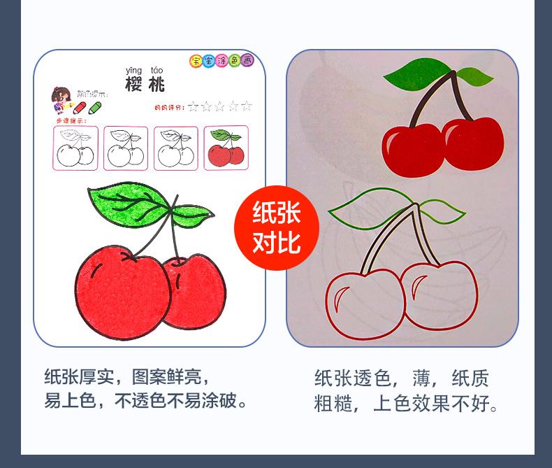 【6大本仅5.8元】儿童涂色本学绘画画书 10