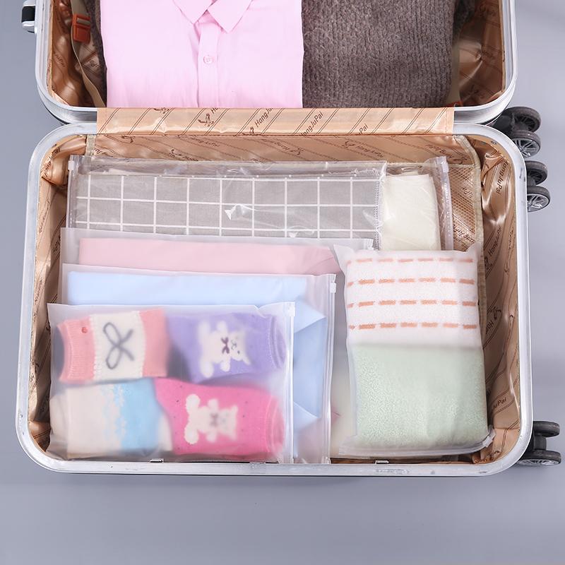 旅行透明收纳袋打包袋家用防水密封袋衣服衣物旅游行李收纳整理袋
