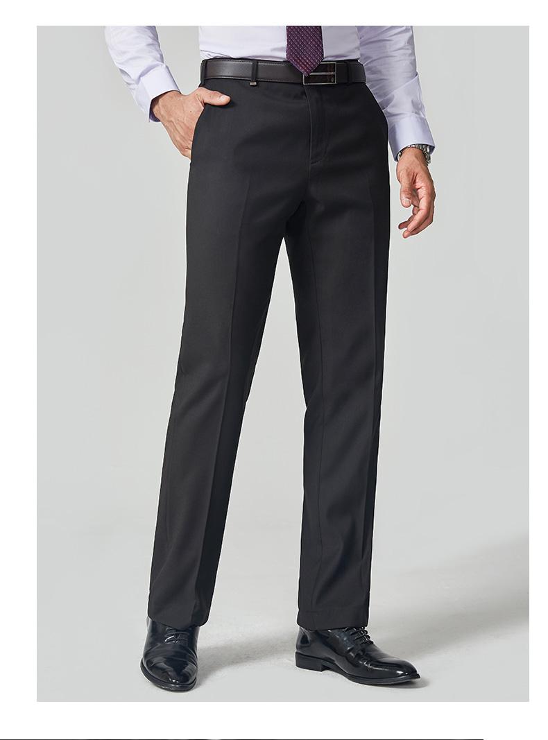 Chín chăn nuôi nam mùa hè phần mỏng quần của nam giới nhân viên văn phòng kinh doanh ăn mặc quần thẳng tóc giống như phù hợp với quần