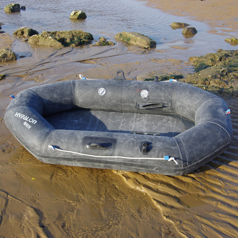 5 77] Haipolong 101 kayak folding fishing boat inflatable