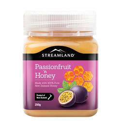 新西蘭進口:Streamland 百香果蜂蜜250g
