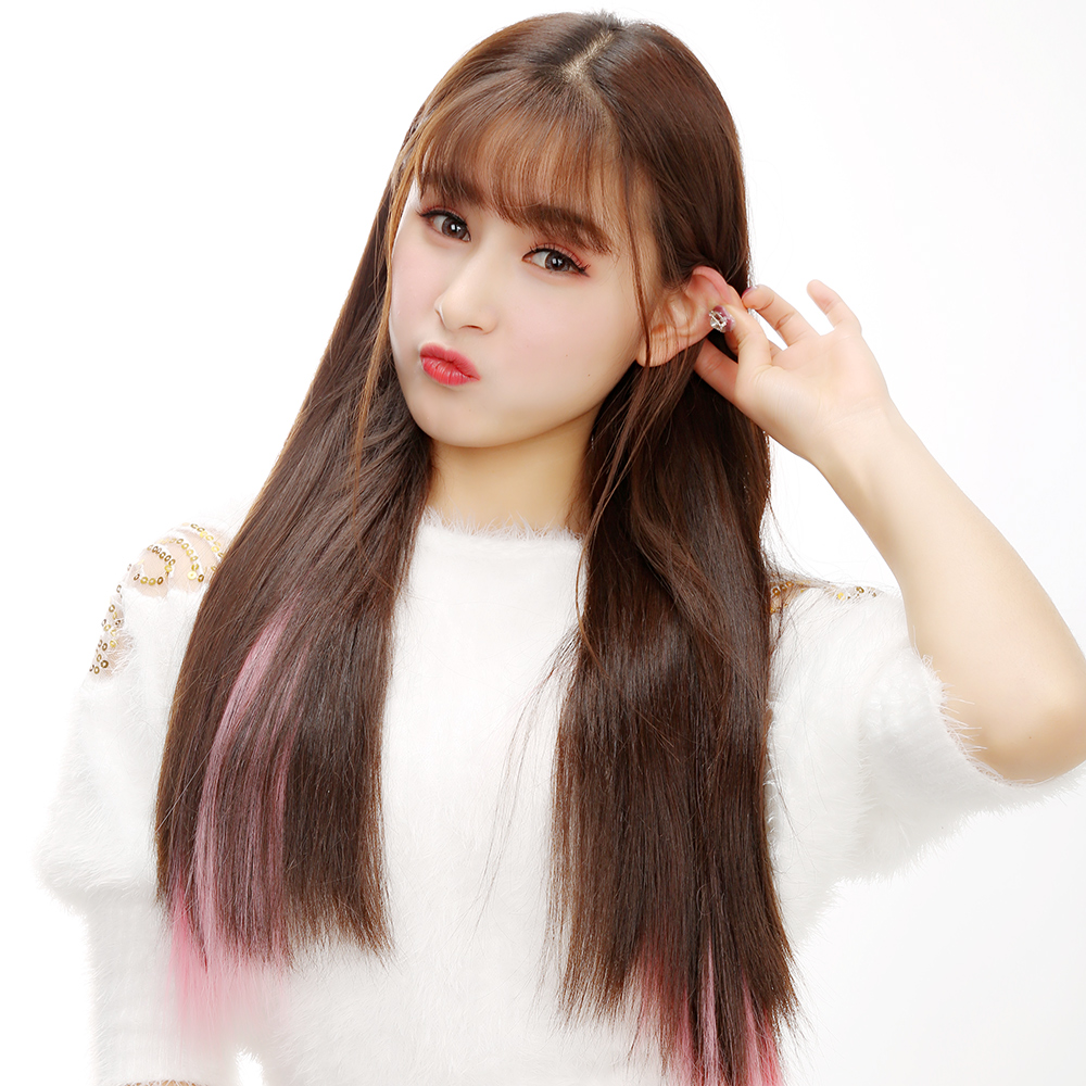 Wig Girls Color Hair Extensions In The Long Straight Hair One Piece