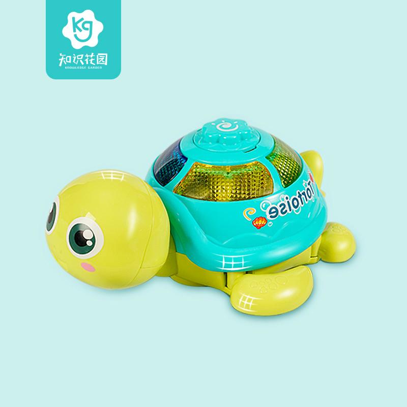 儿童玩具爬行下蛋乌龟电动音乐3岁小宝宝男孩女孩电动抖音同款1-2