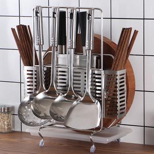 不锈钢刀架厨房用品置物架筷子笼刀具收纳架
