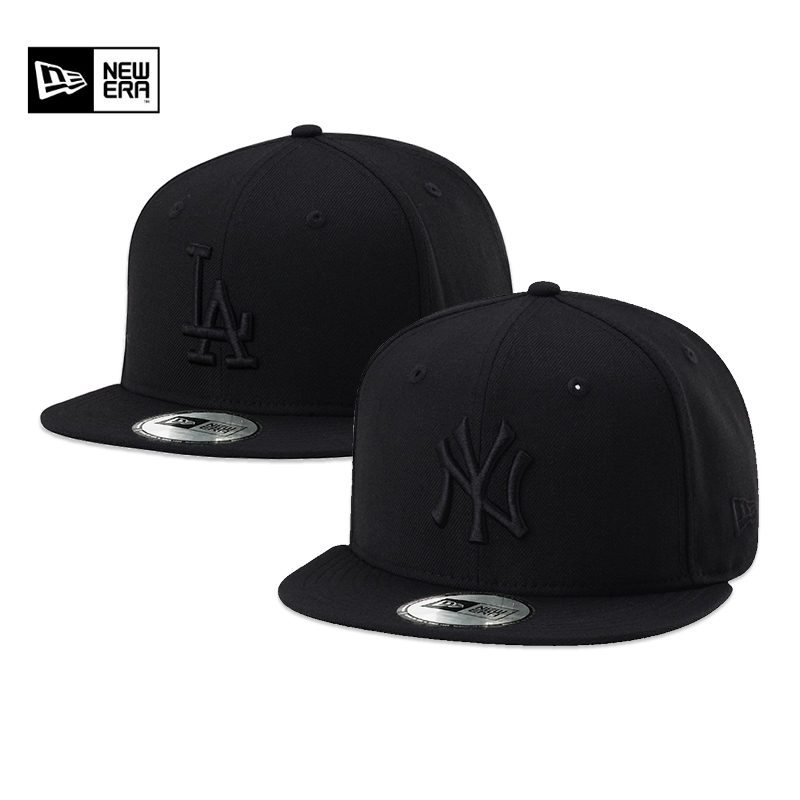 6bd4b974 New Era New York MLB baseball cap men and women NY Yankees LA Dodgers cap  flat along the hip-hop cap tide section