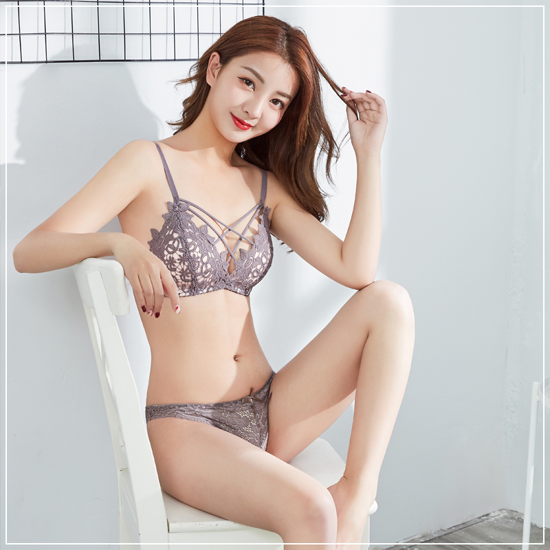 bde38163e2 USD 26.71  Ladies no rims sexy underwear thin section lace received ...