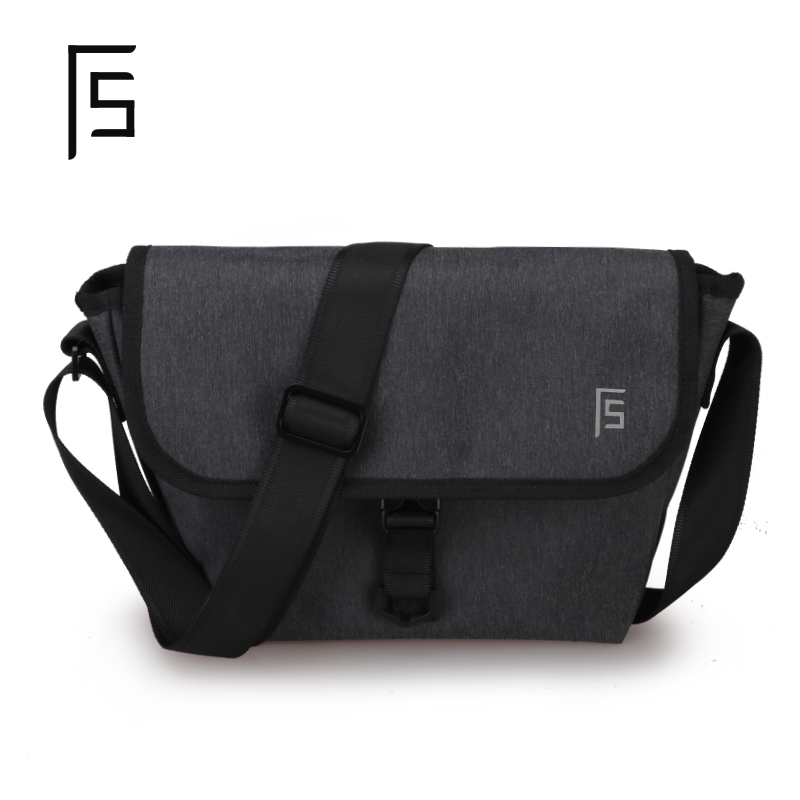 cf3e4a6e23f4 USD 47.43  Shoulder bag men s Tide brand messenger bag fashion trend ...